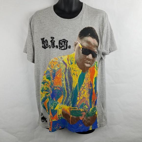 Notorious Big Biggie 90s Hip Hop Rap T Shirt